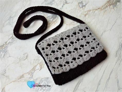 free crochet pattern crossbody bag piyumi s crossbody bag free crochet pattern crochet for you