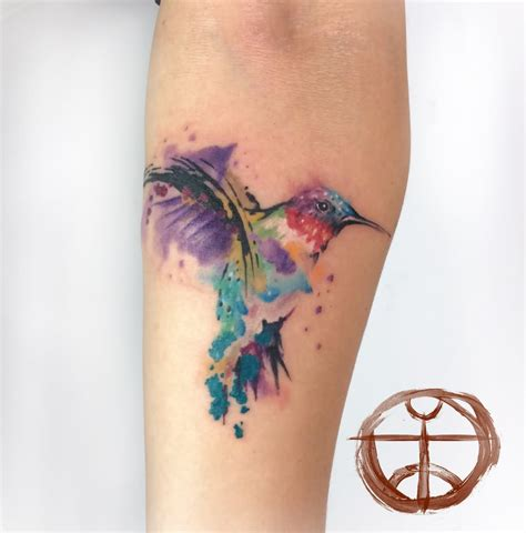watercolor tattoo kolibri 29 fantastic watercolor bird tattoos
