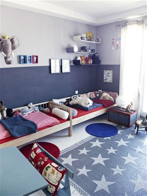 Chico Blue Room by 18 Ideas Para Habitaciones Compartidas Por Ni 241 Os Un