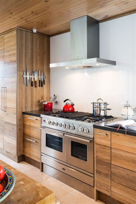 relaxed industrial style kitchen and library canterbury