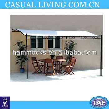 pavillon 2 50x2 50 metall 3 5m x 2 5m fixed wall steel framed patio awning window