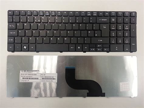 Keyboard Acer Travelmate acer travelmate 5730 5735 5335 5740 uk replacement laptop