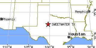 sweetwater texas map sweetwater texas tx population data races housing economy
