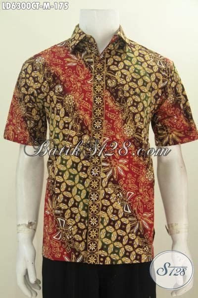 desain baju batik yang bagus baju hem lengan pendek motif bagus yang berpadu desain