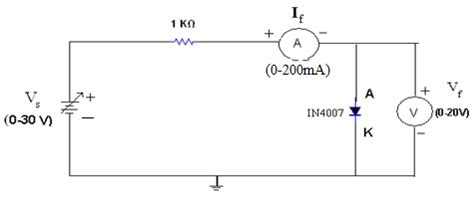 forward bias condition diode electronic devices and circuits lab notes forward bias characteristics of pn junction