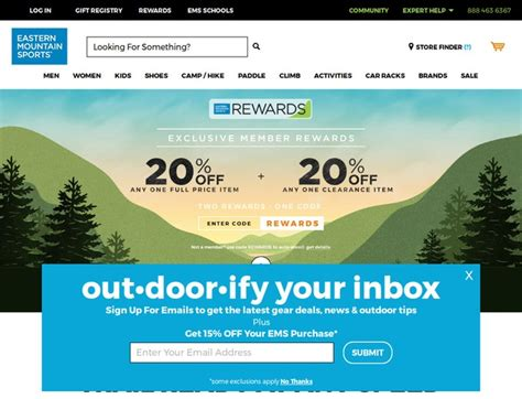 eastern mountain sports coupons ems com promo codes