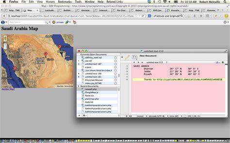 javascript tutorial map php google map chart bearing distance tutorial robert