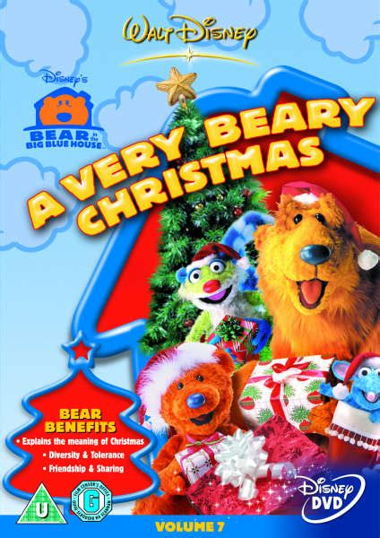bear inthe big blue house dvd bear in the big blue house a very beary christmas iwoot