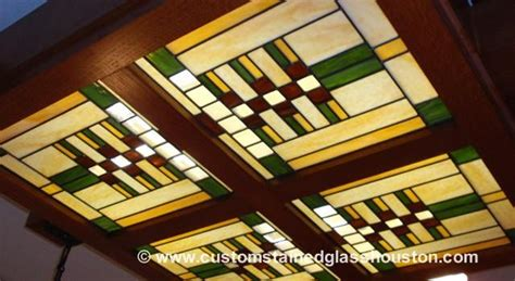 antique l repair houston frank lloyd wright stained glass custom stained glass