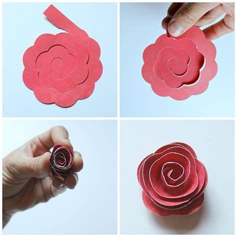 paper flower shadow box tutorial rolled paper flower shadowbox cricut craft and cricut