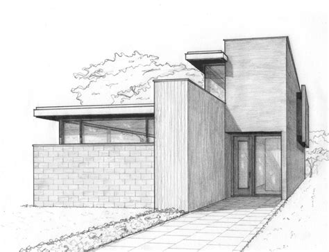 modern house drawing 25 best ideas about house sketch on pinterest house
