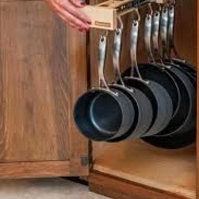 alacena junto al refrigerador hacer divisiones y canaletas en cajones de alacena para