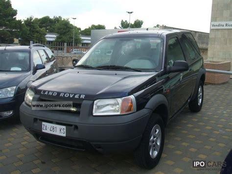 land rover freelander 2000 2000 land rover freelander 2 0 td cat 3p hardback car