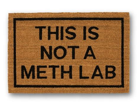 Meth In Your Pocket this is not a meth lab