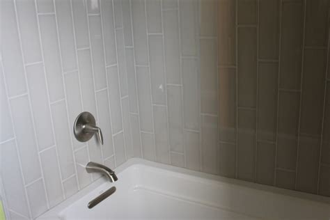 tile tub surround gray tile around bathtub grey tile what s hot in tile showers right now and other flooring