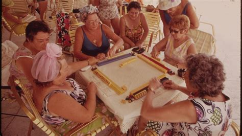 Domino Home Decor by Elderly Jewish Women Accused Of Illegal Gambling The