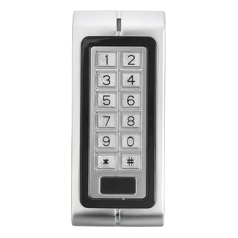 www keypad k2 waterproof password keypad card reader entry door lock