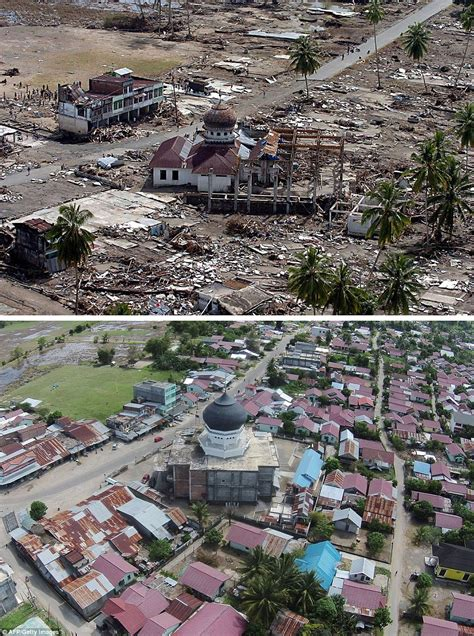 earthquake jakarta right now indonesia images show how country has been rebuilt a