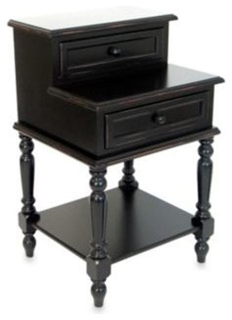 bedside l end table nightstand with 3 drawers usb small l desk end table with two drawers in antique