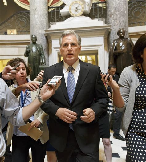 who is the majority leader of the house of representatives money is on kevin mccarthy to replace cantor opensecrets blog