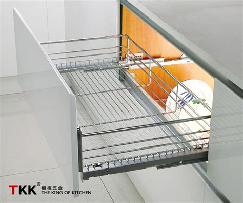 Normal Rack by Normal Slide Four Side Wire Basket Kitchen Dish Racks