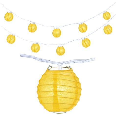 bumble bee string lights 4 quot yellow shaped string lights