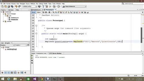tutorial java com netbeans tutorial java netbeans 13 desarrollo de una clase