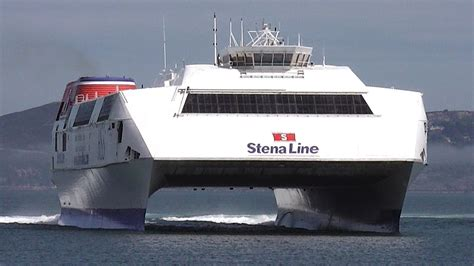 biggest ferry boat in the world world s largest fast ferry hss 1500 class stena explorer