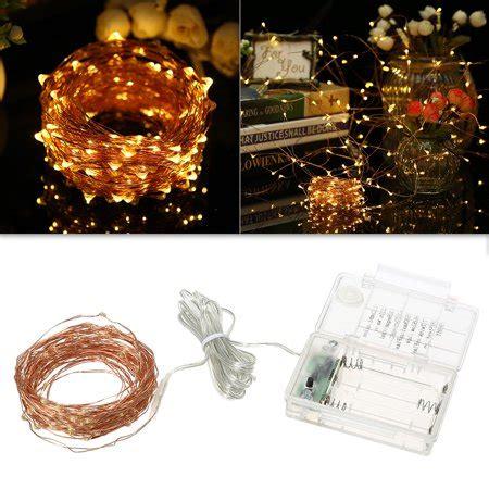 string lights ft  led rope light  modes warm white