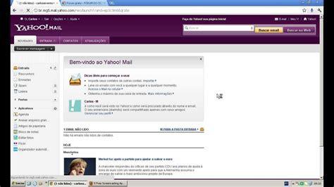yahoo email unavailable como criar um e mail do yahoo com br youtube