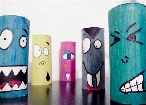 Toilet Paper Roll Crafts For Preschoolers - crafts for 19 upcycled toilet paper rolls