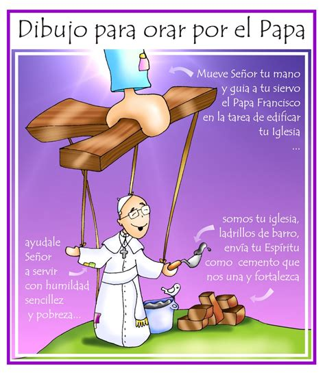 imagenes para orar e eu que podo facer dibujo para orar por el papa