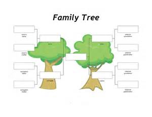 Free Family Tree Template With Pictures by 40 Free Family Tree Templates Word Excel Pdf