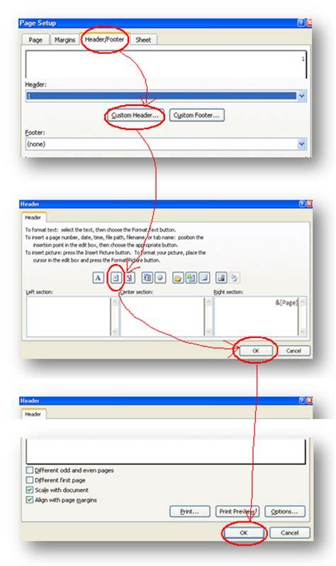 cara membuat halaman di word untuk skripsi cara membuat nomor halaman di excell kang dadang blog