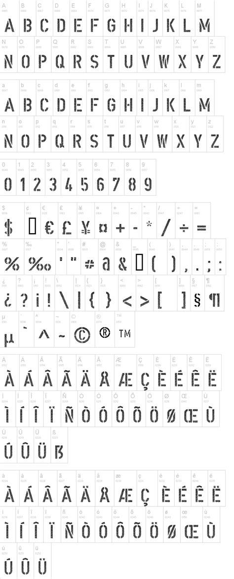 dafont din din schablonierschrift cracked font dafont com