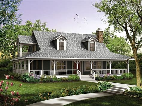 Country Home Plans Wrap Around Porch Plan 057h 0034 Find Unique House Plans Home Plans And