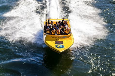 Fiordland Jet Boat Tours on Lake Te Anau & Manapouri