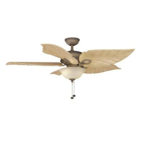 Outdoor Ceiling Fans At Home Depot by Hton Bay Costa Mesa 56 In Indoor Outdoor Weathered