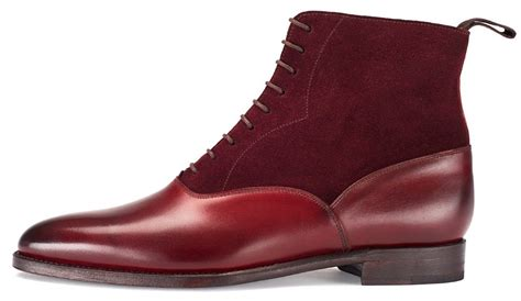 mens burgundy chelsea boots handmade mens burgundy chelsea calf leather and suede boot