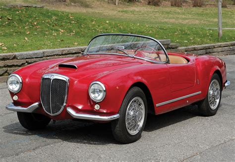Lancia Aurelia Spider Car Of The Day Classic Car For Sale 1955 Lancia