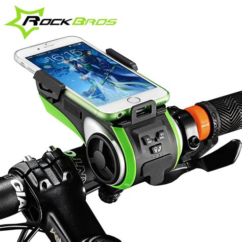 New Arrival Bicycle Bike Phone Holder With Waterproof Ck653 aliexpress buy rockbros bicycle accessories waterproof phone holder bicycle bell bluetooth