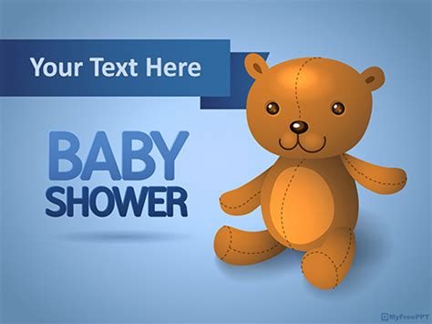 baby shower powerpoint templates free powerpoint templates myfreeppt