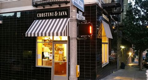 java themes store cafe in san francisco california crostini and java