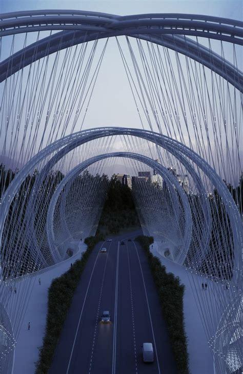 helix bridge helix bridge design for beijing based on abstracted
