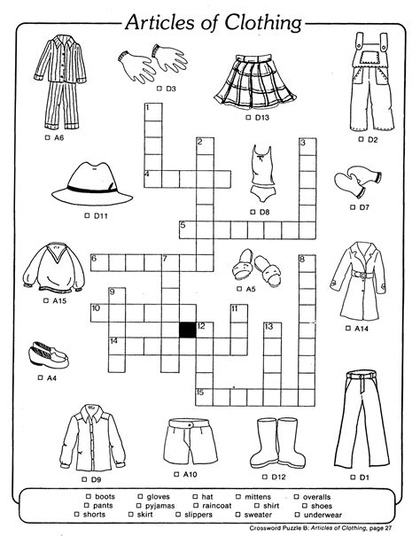 printable crossword puzzle for english learners soleil publishing english esl books