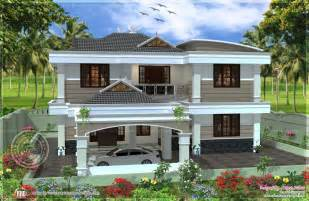 Double Floor House Elevation Photos by 255 Square Yards Double Storied House Design Home Kerala