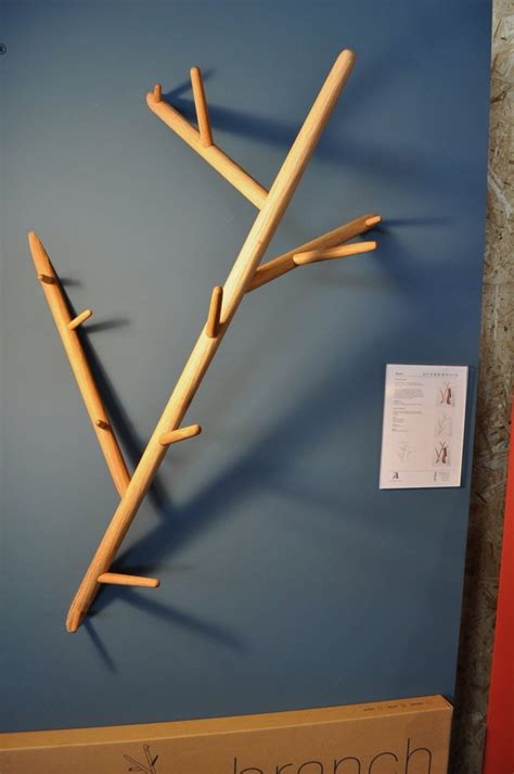 Branch Coat Rack by Minimalist Coat Hanger That Looks Like A Part Of A Tree