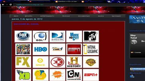 www ver pagina para ver tv por internet gratis youtube