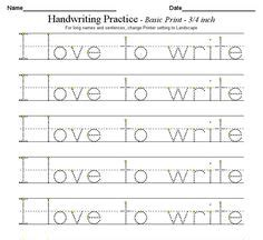 1000 images about handwriting on worksheets