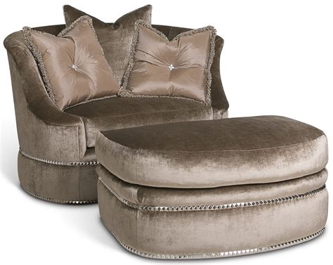 slipper chair with ottoman platinum slipper chair with ottoman